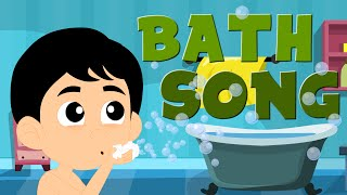 Bath Song | Original Song For Kids And Childrens | Nursery Rhymes For Toddlers
