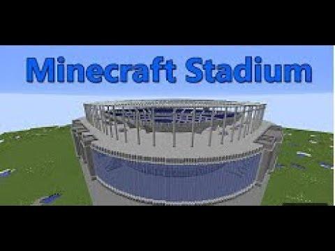 MY FIRST VIDEO | MINECRAFT FOOTBALL/SOCCER STADIUM