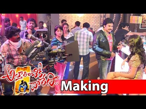 Attarintiki Daredi Song Making || Its Time To Party Now (Club Song) - Pawan Kalyan, Samantha