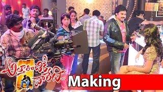 Attarintiki Daredi Song Making || Its Time To Party Now (Club Song) - Pawan Kalyan, Samantha