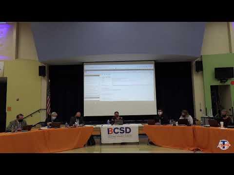 Berea City Schools Board of Education Meetings