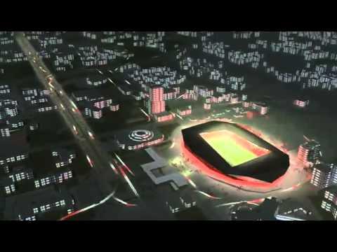 Ecco il nuovo Stadio di Tirana - Albania