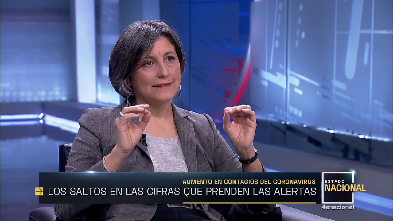 """Ximena Aguilera, integrante consejo asesor de COVID-19: """"Estamos lejos de  superar la primera ola"""" - YouTube"""