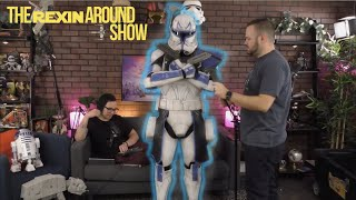 Wearing Real Clone Trooper Armor - Captain Rex: The Rexin Around Show