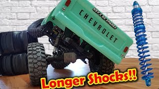 Video Longer Shocks on TRAXXAS TRX-4 for massive FLEX!! download MP3, 3GP, MP4, WEBM, AVI, FLV Juli 2018