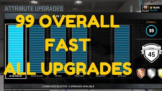 NBA 2K16 TIPS: How To Get 99 OVERALL In MyCareer- HOW TO GET ALL UPGRADES FAST & EASY GLITCH!