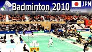 Badminton Japan league 2010 MD Hirose Yokoyama vs Anggun Nugroho Miyazaki