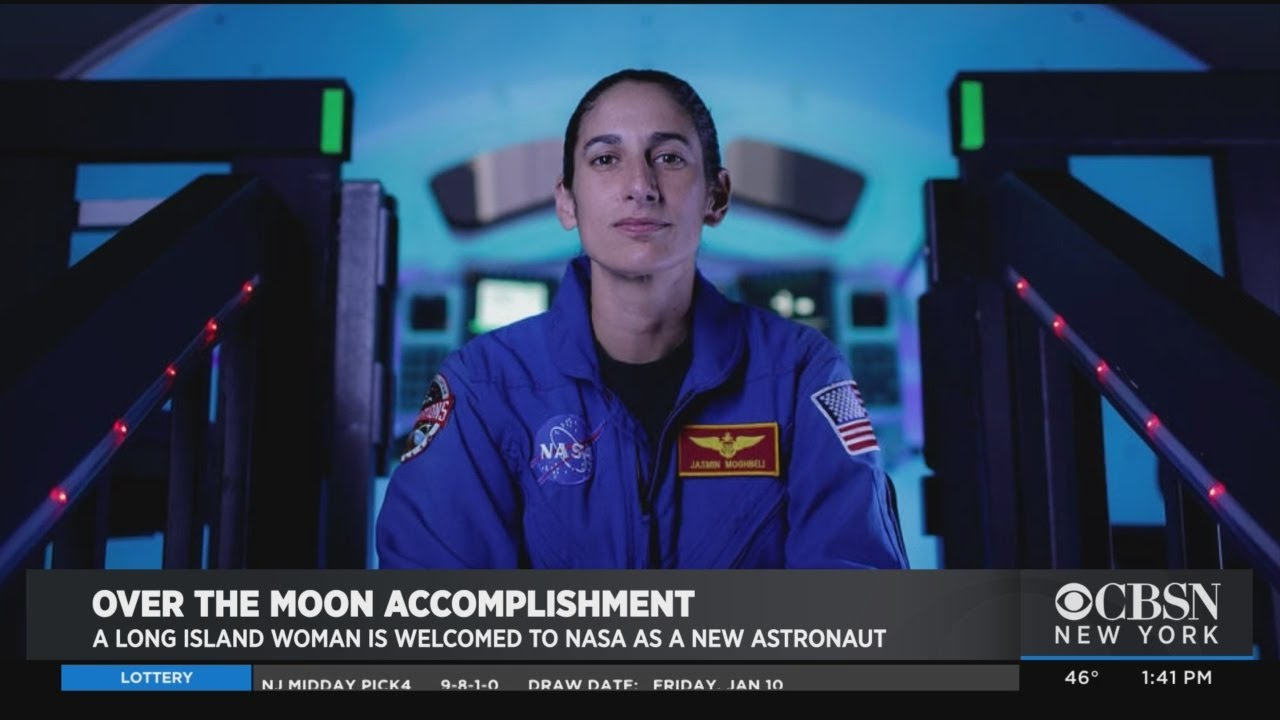 Long Island Woman Jasmin Moghbeli Welcomed To NASA As New Astronaut - CBS New York