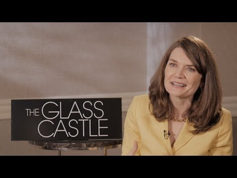 THE GLASS CASTLE interview - author Jeannette Walls