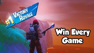 Win EVERY The Floor Is Lava Game With This Glitch! (Fortnite Season 8)