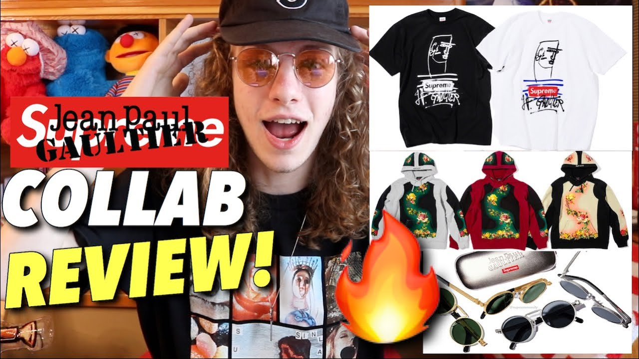 519748fd1ea This Collab is INSANE! Supreme Jean Paul Gaultier Review! - YouTube