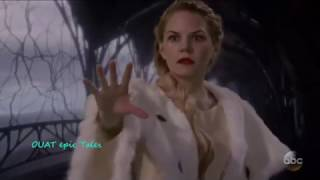 """Once Upon A Time 6x10 Emma Saves Regina as Evil Queen """"Wish You Were Here"""" Season 6 Episode 10"""