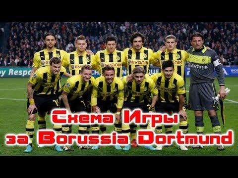 FIFA 14 Схема игры за Borussia