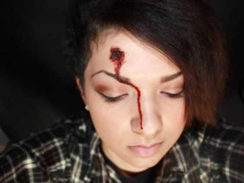 tutorial sfx bullet hole - Face In Hole Halloween