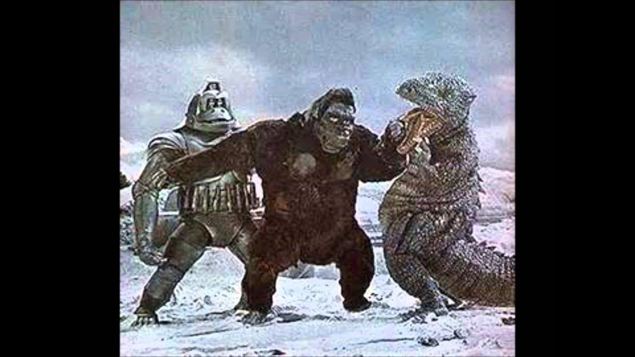 Mechani Kong roar - YouTube King Kong Escapes Gorosaurus