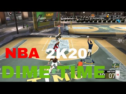 Best Sharpshooting Facilitator on NBA 2K20 DIME TIME!