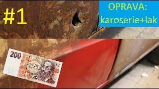#1 - SCRIMP MY RIDE: Opravy karoserie a laku