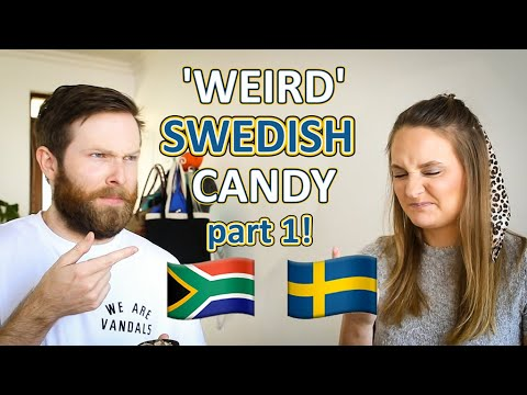 SOUTH AFRICANS TRY WEIRD SWEDISH CANDIES
