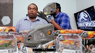 CRAZY FUN JURASSIC WORLD TOYS UNBOXING! [w/ BlackNerdComedy]