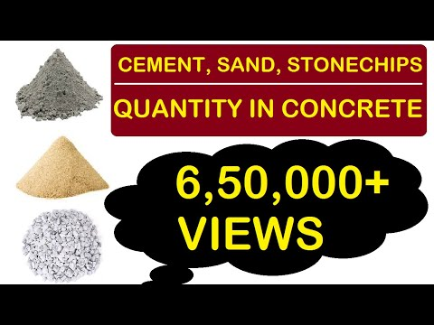 How to Calculate Cement, Sand and Aggregate Quantity in Concrete