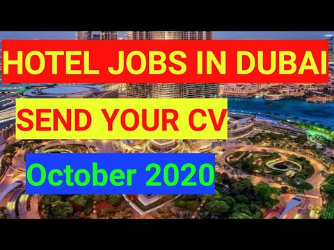 Hotel jobs in Dubai Free October 2020 New jobs