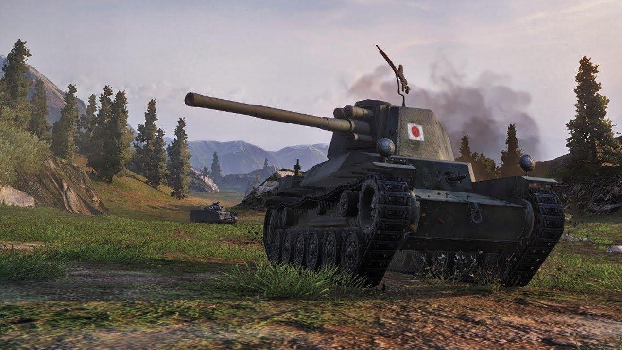 World of tanks blitz/Chi-nu это вам не Джеки Чан/маленький