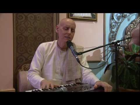 2012.10.31. Kirtan before BG Lecture ISKCON Riga Latvia Travel Video