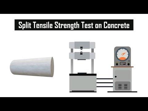 How To Determine Split Tensile Strength Test Of Concrete || Laboratory Concrete Test #2