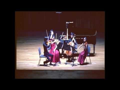 A. Dvorak Piano Quintet No.2 Op. 81 - I. Allegro ma non tanto