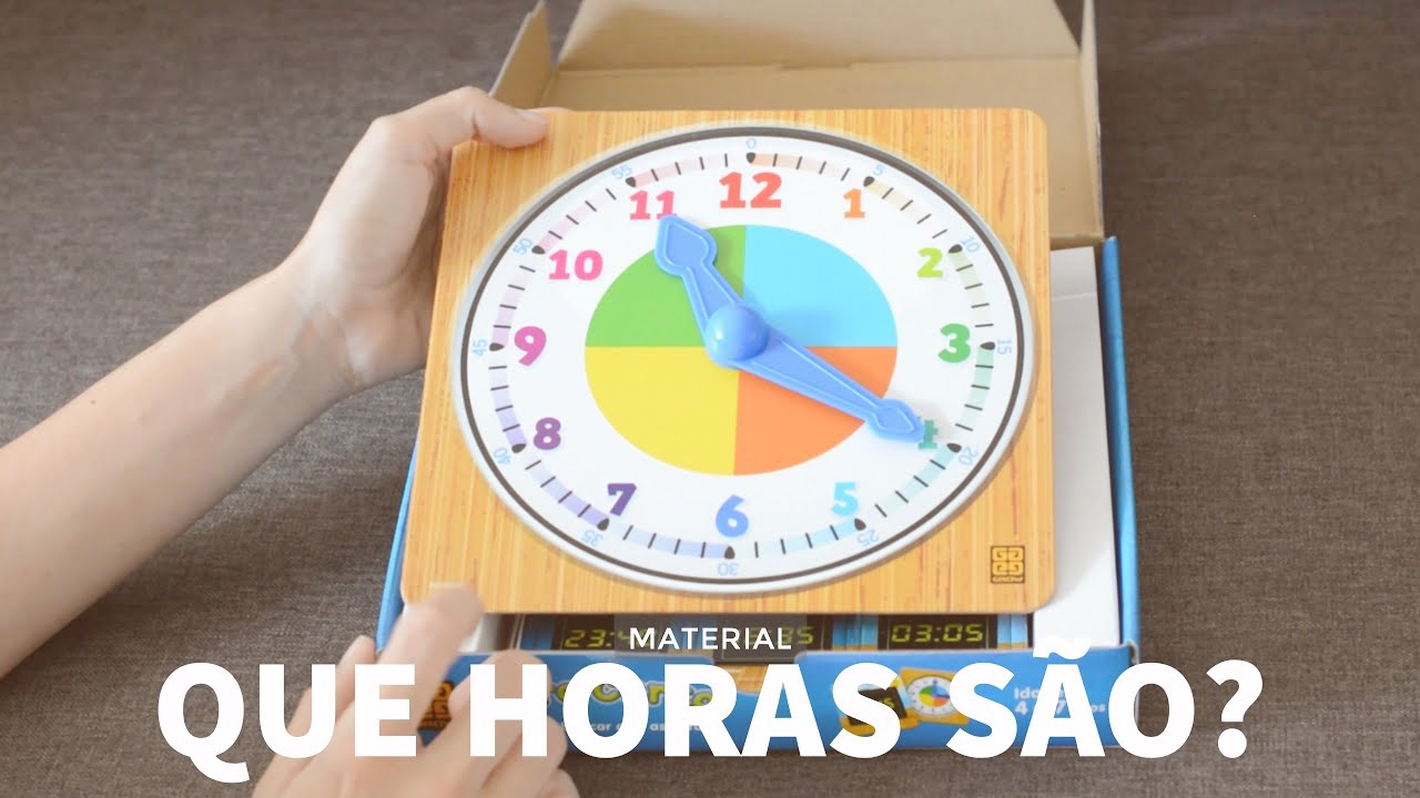 f8d7885276b Unboxing do jogo Hora Certa - YouTube