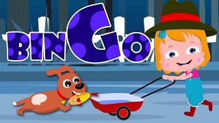 Бинго собаку | песня для детей | детские стишки | Music For Kids | Kids Song | Bingo The Dog