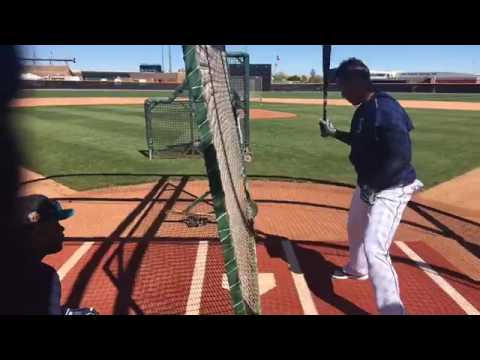 Robinson Cano teaching how to hit for power.