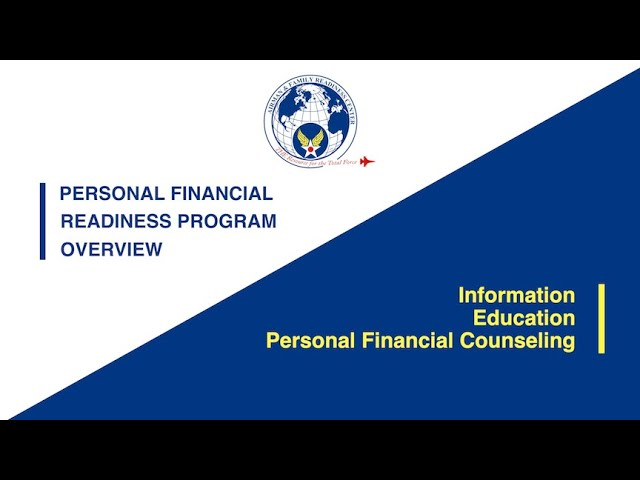 Personal Financial Readiness