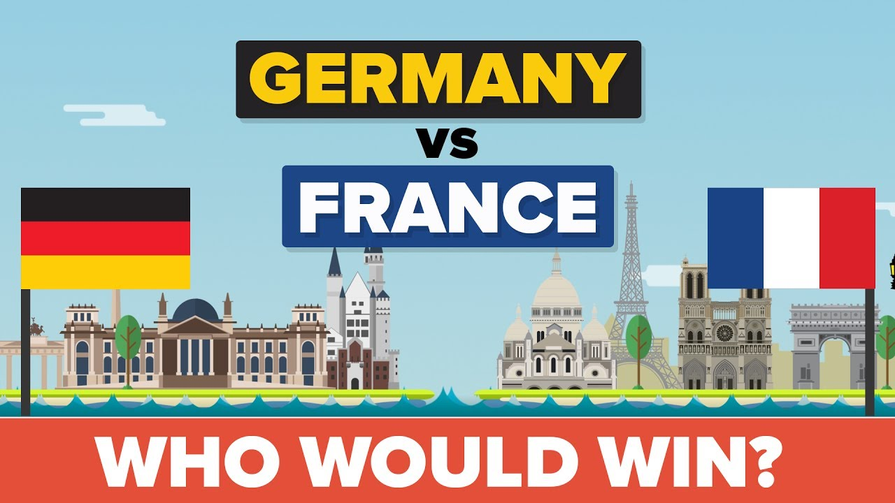 Germany vs France - Who Would Win - Army / Military Comparison - YouTube