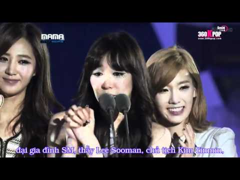 [Vietsub] Artist Of The Year - SNSD @ 111129 MAMA 2011 {SoShi Team} [360kpop.com]