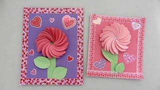 diy tarjetas para el dia de san valentin creative flower