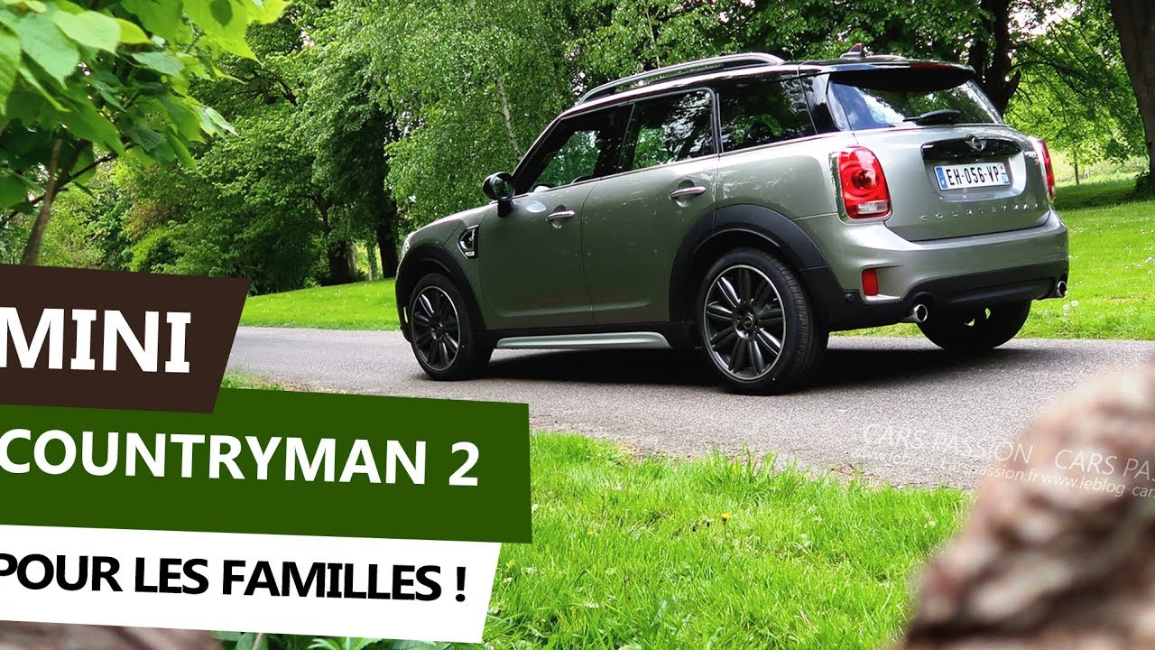 Mini Countryman 2017 Sd 190 Ch Plus Grand Et Plus De Confort Essai