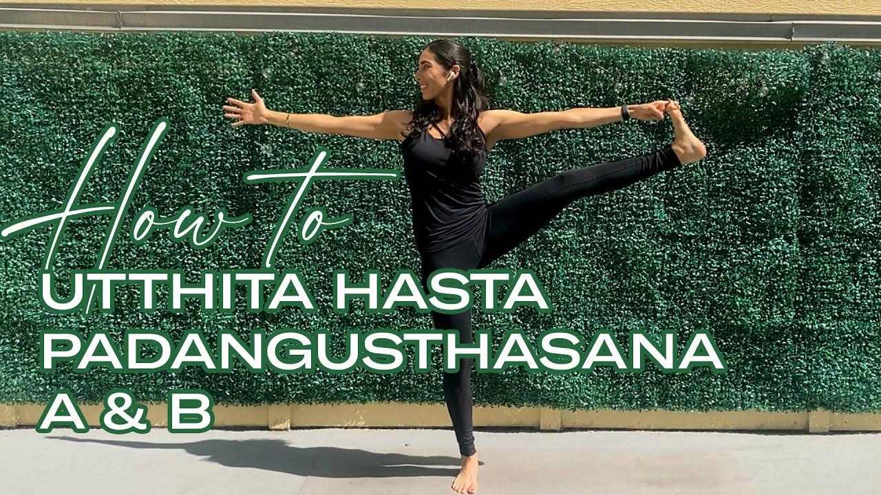 Utthita Hasta Padangusthasana (Extended Hand-to-Big-Toe Pose)
