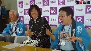 記事詳細とHD動画はこちら http://www.asahi.com/news/intro/OSK2012070...