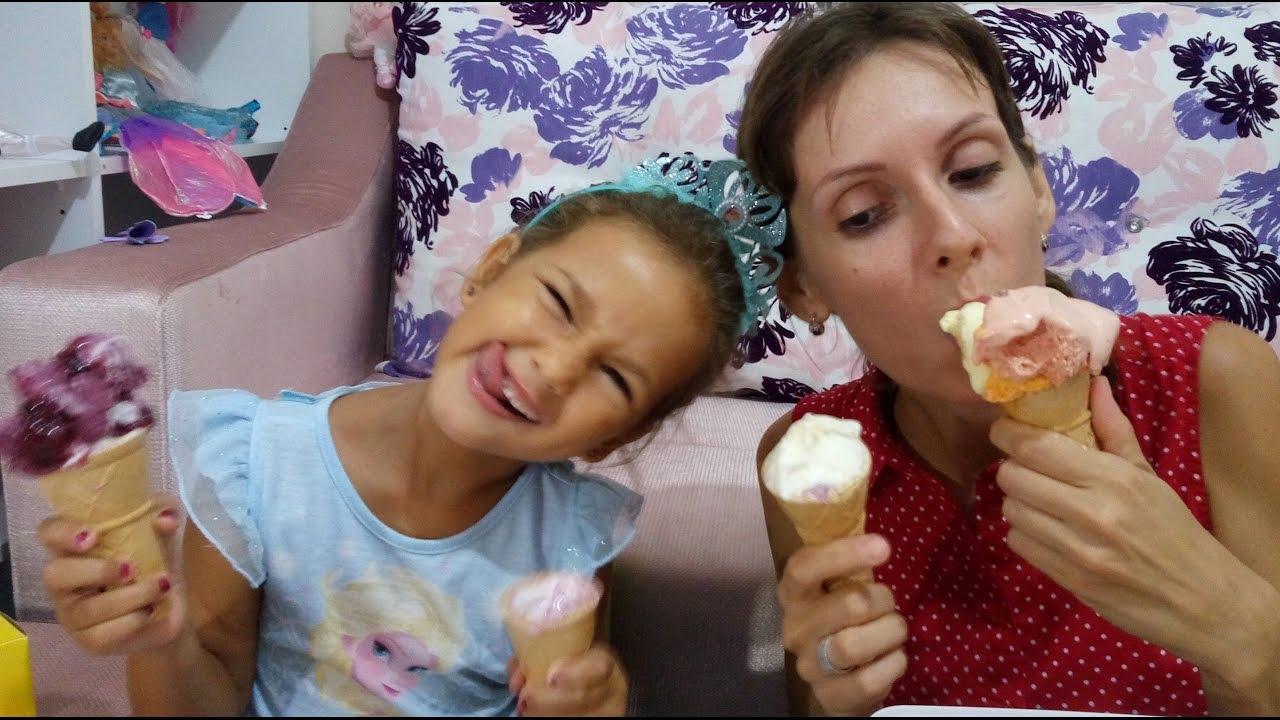 Dondurma challenge 2 , Bu kez kutu dondurmalar yarışıyor.Eğlenceli challenge  videosu