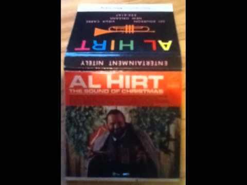 "1 Al Hirt Sinatraville Club, New Orleans, La Matchbook Vin 1970's ""christmas Special Edition"""
