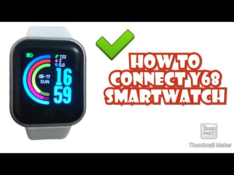 HOW TO CONNECT Y68 SMARTWATCH TO YOUR SMARTPHONE | TUTORIAL | ENGLISH