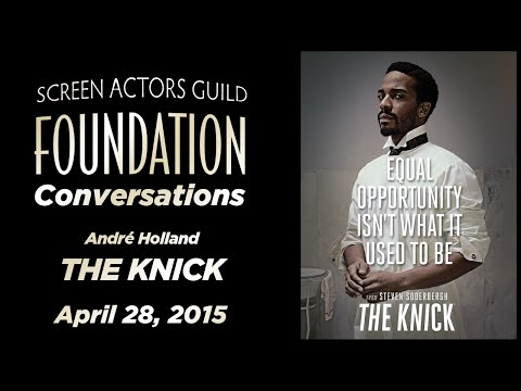 Conversations with André Holland of THE KNICK