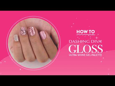 How To: Dashing Diva Gloss Gel Strips