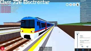Roblox Mind the Gap trains departs p.3 all new trains (recorded 2.11.17r)