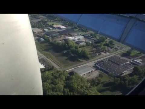Landing at Columbus Ohio