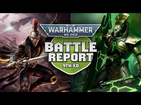 Harlequins vs Necrons Warhammer 40k Battle Report Ep 107   Foci