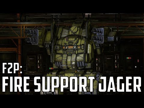 MWO: F2P - Ep 57 'UAC2 Fire Support Jagermech'