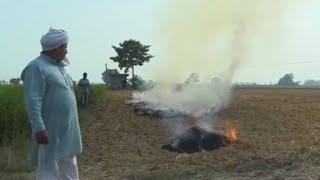 Quemarrastrojoasfixia a Delhi y prohibirlo ahoga a los agricultores