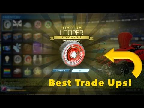 Best Trade Ups Rocket League